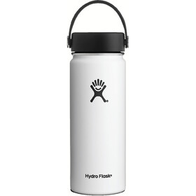 Hydro Flask Wide Mouth Flex Bottle 18oz (532ml) White